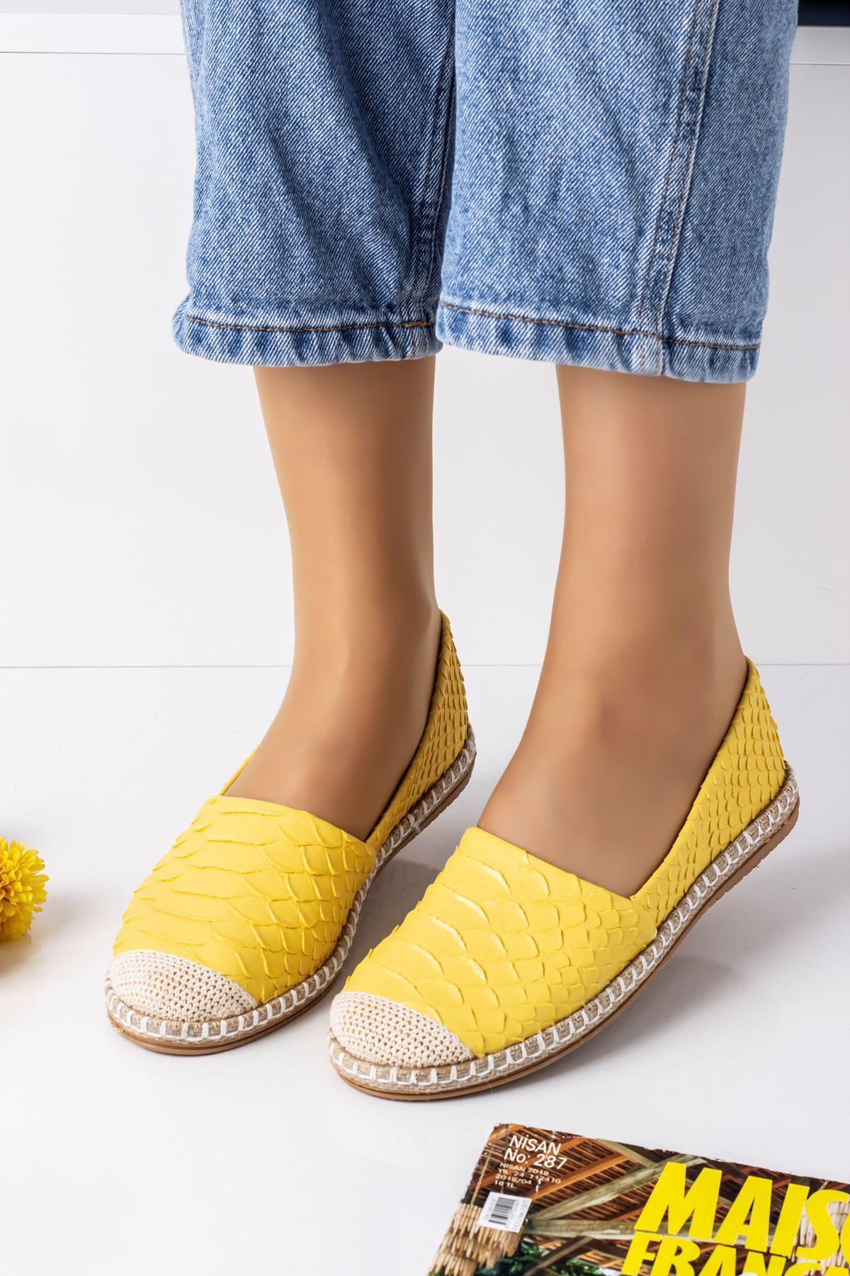 CESTI KADIN BABET-Sarı