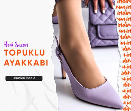 Topuklu Kadın Ayakkabı