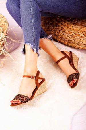 Dolgu Topuklu Ayakkabı Modelleri